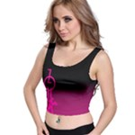ZOUK pink/purple Crop Top