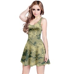 Greencamouflage Reversible Sleeveless Dresses