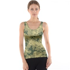 Greencamouflage Tank Top