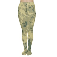 Greencamouflage Women s Tights