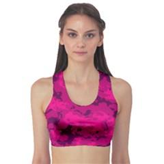 Pink Tarn Sports Bra