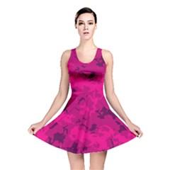 Pink Tarn Reversible Skater Dresses