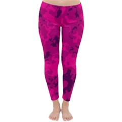 Pink Tarn Winter Leggings
