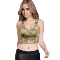 Deserttarn Racer Back Crop Tops