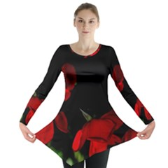 Roses 2 Long Sleeve Tunic