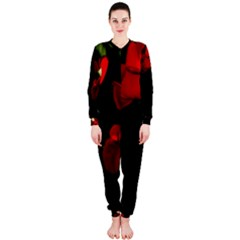 Roses 3 Onepiece Jumpsuit (ladies)  by timelessartoncanvas