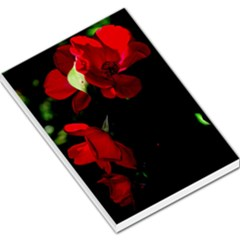 Roses 4 Large Memo Pads by timelessartoncanvas