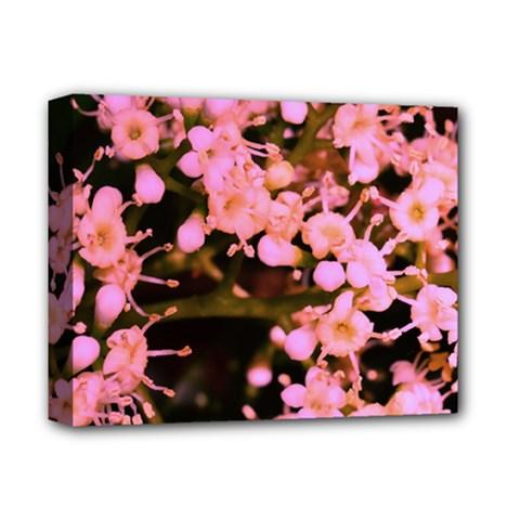 Little Mauve Flowers Deluxe Canvas 14  X 11  by timelessartoncanvas