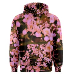Little Mauve Flowers Men s Pullover Hoodie by timelessartoncanvas