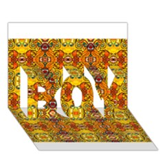 Roof Boy 3d Greeting Card (7x5)
