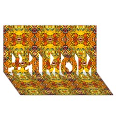 Roof #1 Mom 3d Greeting Cards (8x4)