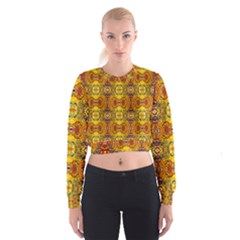 Roof Women s Cropped Sweatshirt