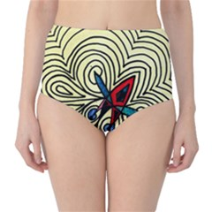 Bipolar Free Will High Waist Bikini Bottoms