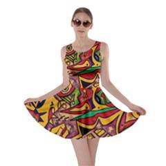 Bipolar Free Will Skater Dress