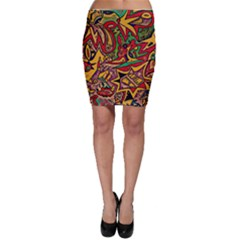 Bipolar Free Will Bodycon Skirts
