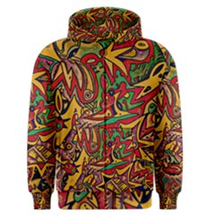 Bipolar Free Will Men s Zipper Hoodie