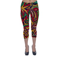 Bipolar Free Will Capri Winter Leggings