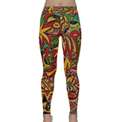 Bipolar Free Will Yoga Leggings