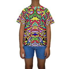 Photoshop 200resolution Kid s Short Sleeve Swimwear