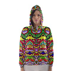 Photoshop 200resolution Hooded Wind Breaker (women)