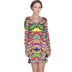 Photoshop 200resolution Long Sleeve Nightdress