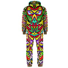Photoshop 200resolution Hooded Jumpsuit (men)