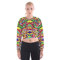 Photoshop 200resolution Women s Cropped Sweatshirt