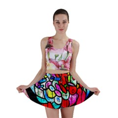 Bipolar Colour Me Up Mini Skirts