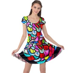 Bipolar Colour Me Up Cap Sleeve Dresses