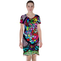 Bipolar Colour Me Up Short Sleeve Nightdress
