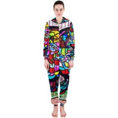 Bipolar Colour Me Up Hooded Jumpsuit (ladies)