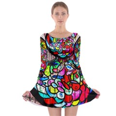 Bipolar Colour Me Up Long Sleeve Skater Dress