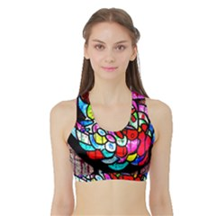 Bipolar Colour Me Up Women s Sports Bra With Border