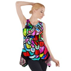 Bipolar Colour Me Up Side Drop Tank Tunic
