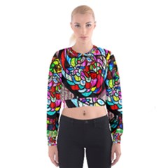 Bipolar Colour Me Up Women s Cropped Sweatshirt