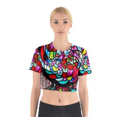 Bipolar Colour Me Up Cotton Crop Top