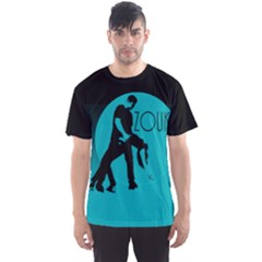 Zouk Blue Moon Men s Sport Mesh Tees
