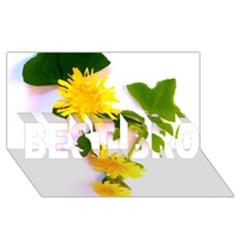 Margaritas Bighop Design Best Bro 3d Greeting Card (8x4)