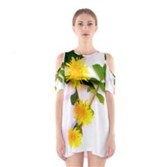Margaritas Bighop Design Cutout Shoulder Dress