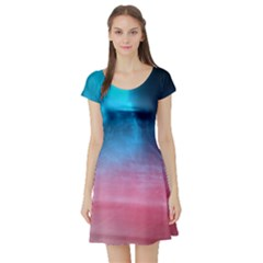 Aura by Bighop collection Short Sleeve Skater Dress by bighop