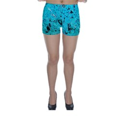 Aquamarine Collection Skinny Shorts by bighop