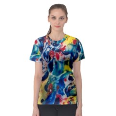 Colors Of The World Bighop Collection By Jandi Women s Sport Mesh Tee by bighop