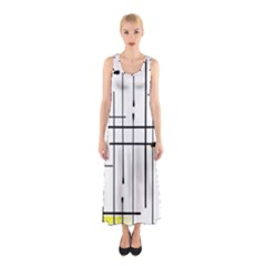 White Limits By Jandi Full Print Maxi Dress by bighop