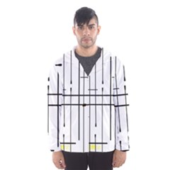 White Limits By Jandi Hooded Wind Breaker (Men) by bighop