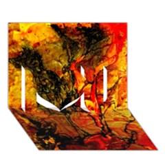 Jandi I Love You 3d Greeting Card (7x5)  by 20JA
