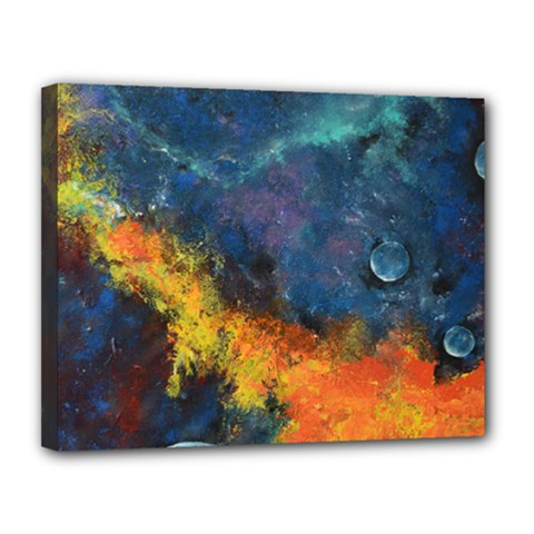 Space Balls Canvas 14  X 11  by timelessartoncanvas
