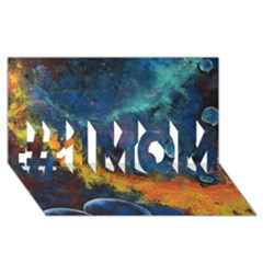 Space Balls #1 Mom 3d Greeting Cards (8x4)  by timelessartoncanvas