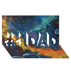 Space Balls #1 Dad 3d Greeting Card (8x4)  by timelessartoncanvas