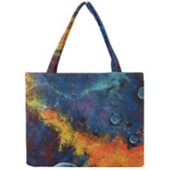 Space Balls Mini Tote Bag by timelessartoncanvas