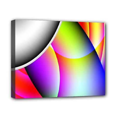 Psychedelic Design Canvas 10  X 8  by timelessartoncanvas
